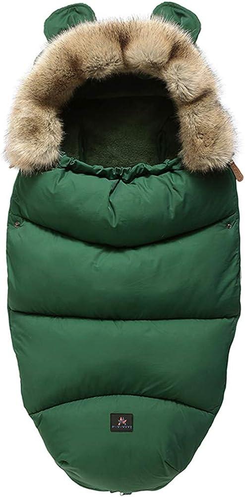 Pushchair /& Pram Footmuffs Infant Baby Sleep Nest Sleeping Bag Warm Unisex Baby Cotton Blankets Wearable for 0-18 Month Baby