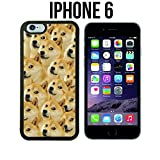 Mr Doge MEME Custom made Case/Cover/Skin for iPhone 6 - Black - Rubber Case (Ships from CA)