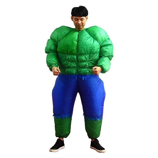 YBBDHD Disfraz De Hulk Inflable Fiesta De Bar para Adultos ...