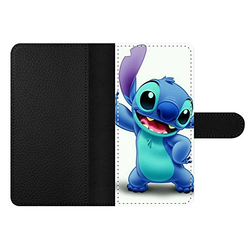 GSPSTORE Moto E5 Plus/G6 Plus Wallet Case,Lilo & Stitch Pattern PU Leather Push Style Case with Multiple Pockets,Card Holder for E5 Plus/G6 Plus #02