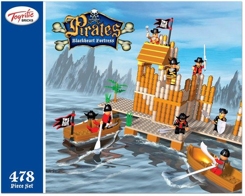 Pirates Black Heart Fortress 478 pieces [Toy]