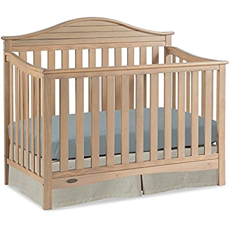 Graco Harbor Lights 4 In 1 Convertible Crib In Driftwood