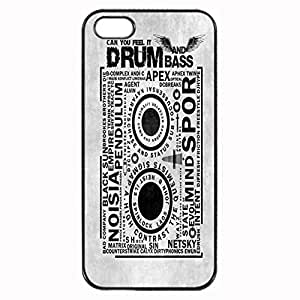 DnB Custom Image Case iphone 4 case , iphone 4S case, Diy Durable Hard Case Cover for iPhone 4 4S , High Quality Plastic Case By Argelis-sky, Black Case New