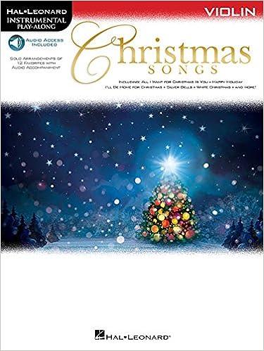 Christmas Songs: for Violin Instrumental Play-Along (Hal