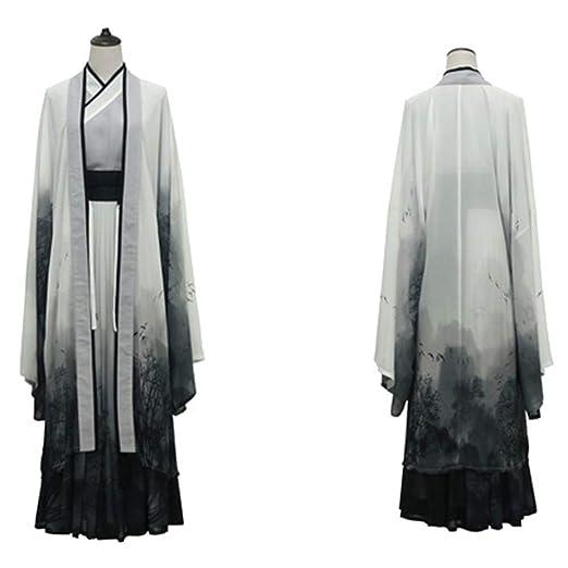 YLiansong Disfraz Hanfu Vestido Hanfu Hanfu Cosplay de Tres Piezas ...