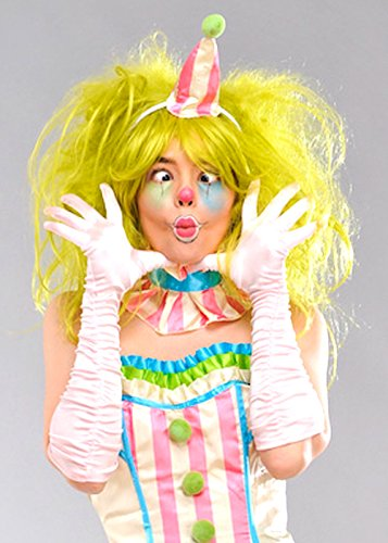 Green Clown Wig (Deluxe Clown Wig)