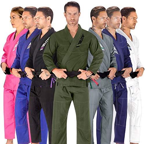 White Cotton Brazilian Competition Martial Arts Adidas Jiu Jitsu Elite Belt