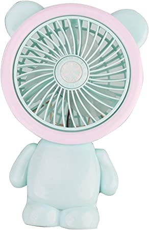 Chinashow Mini Ventilador de Mano – Mesa de Escritorio Personal ...