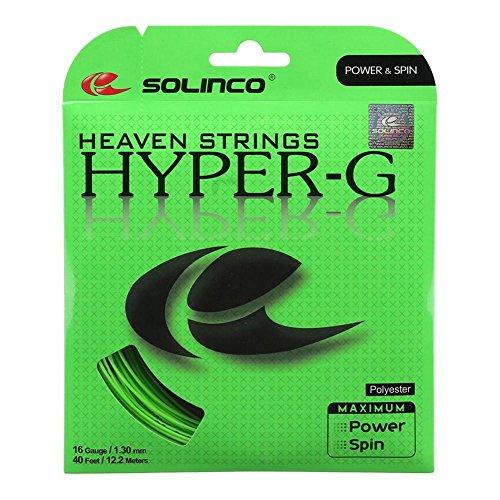 Solinco - Hyper-G Tennis String - (SOLHYPG:SET)