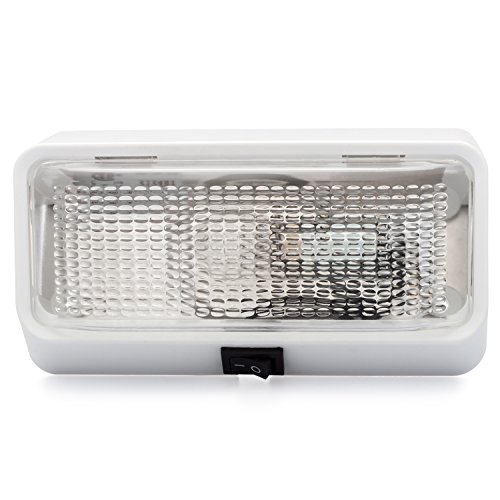 Lumitronics Rv Exterior Porch Light With On Off Switch And