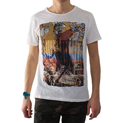 Imperial Herren T-Shirt weiß Bianco Large