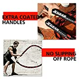 XGEAR Heavy Battle Rope,Anchor Strap Kit/Wall