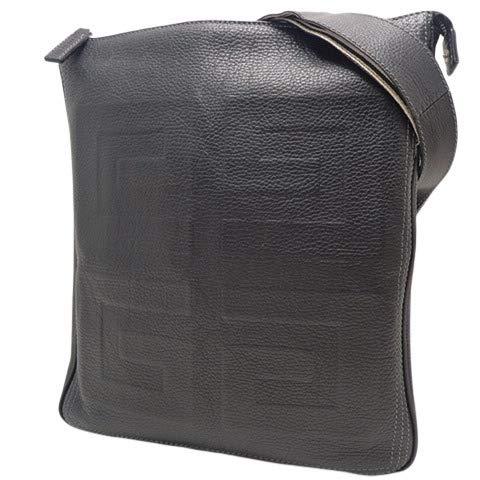 Givenchy(ジバンシー) ショルダーバッグ 斜め掛け 肩掛け かばん 鞄 レザー ブラック黒 シルバー金具 メンズ 40800025092【中古】【アラモード】 B07S7PBBGC