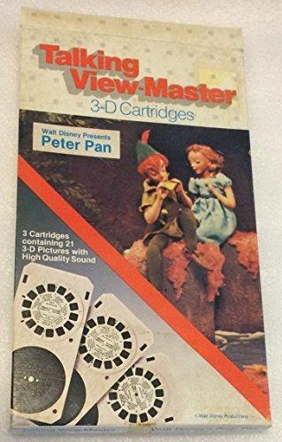 (Walt Disney's PETER PAN Talking View-Master 3-D Cartridges)