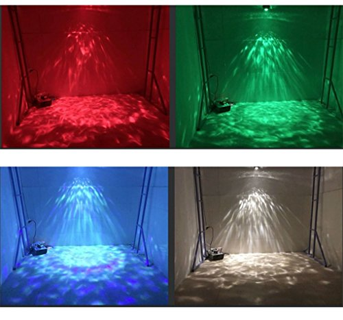 Led Ripple Light Christmas Ocean light DJ light Party Light Disco stage Lights RGBW 14-color magic ball Remote Water wave Ripple Effect Light for Night Club Bar Pub New year -