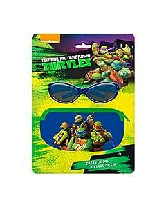 Blister Funda + Gafas Sol Tortugas Ninja: Amazon.es ...