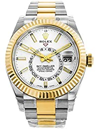 Oyster Perpetual Sky-Dweller Automatic Mens Two-tone Watch 326933WSO