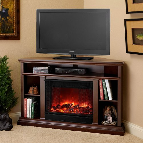 Real Flame Churchill Electric Fireplace, Dark Espresso