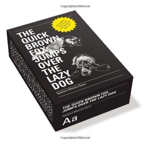 The Quick Brown Fox Jumps Over the Lazy Dog by Prata, Fábio, Nalon, Flávia (2010) Cards