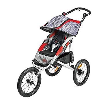 Image of Allen Sports Premier Aluminum 1-Child Jogger, Red, Model J1