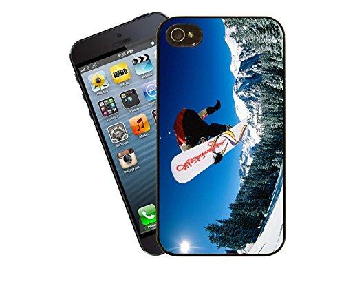 Snowboard 01 iPhone Fall - diese Abdeckung passt Apple Modell 5 und 5 s - von Eclipse-Geschenk-Ideen