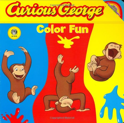 Curious George Colour - Curious George Color Fun (CGTV Board Book): Die-cut Board Book