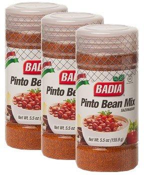 Badia Pinto Bean Mix 5 oz Pack of 3 by Badia