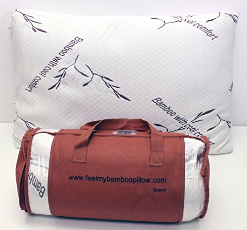 Bamboo Pillow with Cool Comfort - Queen