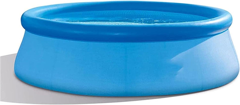 Easy Set - Piscina, Piscina para niños Familia Adulta Inflatable Pool Pool Piscina Engrosamiento y Highening Villa Super Large Piscina: 244 cm * 76cm