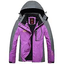 EkarLam Spring Fall Hooded Outdoor Hiking Climbing Rush Guard Pioneer Jacket