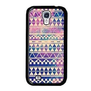 amtonseeshop Nice Brand New Stylish Hot Aztec Tribal Pattern Case (Light purple geometric figure For Samsung Galaxy S4 i9500)