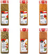 Club House, Quality Natural Herbs & Spices, Seasoning Pack, 6 C