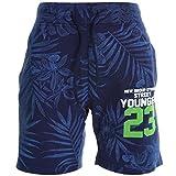 Jungen Kinder Cargo Kurze Hose Bermuda Shorts Capri Vintage Sport Strech 20385, Farbe:Navy;Größe:104
