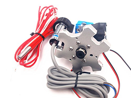 HEASEN M4 Delta Kossel Mini 3D Printer Effector Extrusion hotend kit with Inductive Proximity Sensor auto Leveling 1.75mm