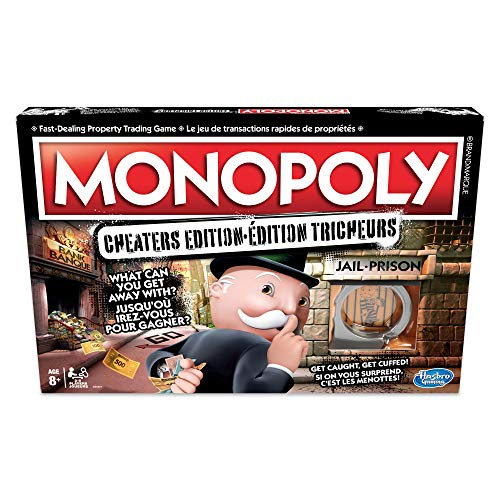 Hasbro Monopoly Cheaters Edition Board Game (Outlet Chester Stores)