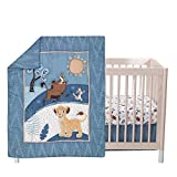 Cheap Bedding Sets King Lambs & Ivy Lion King Adventure 3Piece Baby Crib Bedding Set, Blue