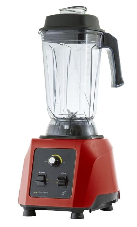 G21 GA-GS1500R Licuadora Profesional, 1500 W, 300 W, 2.5 litros, Rojo: Amazon.es: Hogar