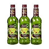 Master Martini Mix Sour Apple 33.8 FZ (Pack of 4)