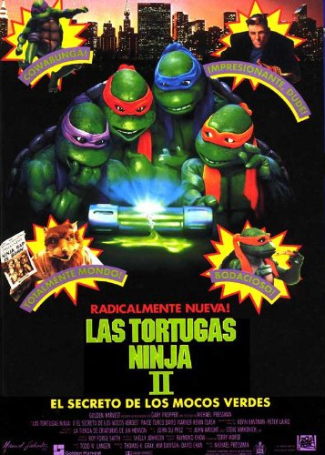 Teenage Mutant Ninja Turtles 2: The Secret of The Ninja 11 x ...