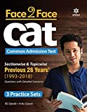 Face To Face CAT 26 years Sectionwise & Topicwise solved paper