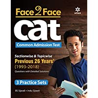 Face To Face CAT 26 years Sectionwise & Topicwise solved paper 2019