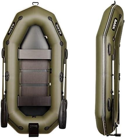 para Motor Angel Lancha Motor de Bote de Remo Remo Barco Goma Boot Sport Lancha Hinchable Inflatable Boat Dinghy Bark B de 260np 2.6/m 8.5/ft Manguera Boot con Espejo de popa y rodapi/é