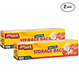 Best Glad Grocery Bags - Propack Storage Bags, Original Twist-Tie, One Gallon, 100ct Review