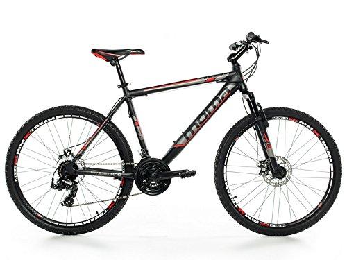 🥇 Moma Bikes MTB GTT –  Bicicleta 26″ Btt Shimano profesional
