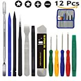 E.Durable Repair Kit Screwdrivers for iPhone iPad Smartphone GPS Units and Electronic Devices in General –DIY Tool (Pry Opening Tool Set 2)