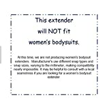 Onesie/Bodysuit Extenders Pack of 3, White, 3