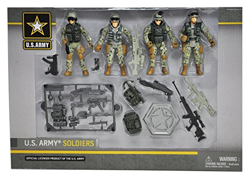 Us Army Soldiers - United States Army Soldier Set Action Figure