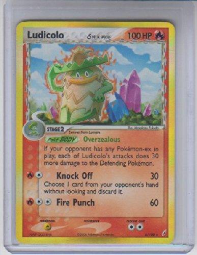 Ludicolo Delta Species Holo Rare Pokemon #6 Photo - Pokemon Gaming