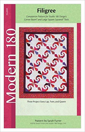 Studio 180 Design Quilt Pattern - Filigree (Three Project Sizes)