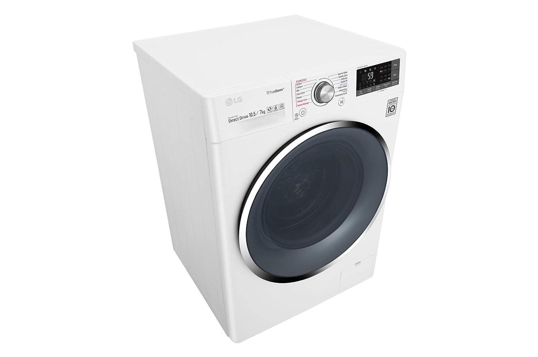 LG F4J8JH2WD lavadora Carga frontal Independiente Azul, Blanco A ...